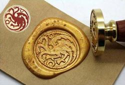 WAX SEAL STAMP -  TARGARYEN STAMP