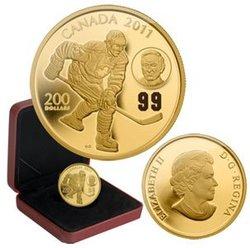 WAYNE GRETZKY -  WAYNE AND WALTER GRETZKY -  2011 CANADIAN COINS