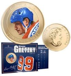 WAYNE GRETZKY -  WAYNE GRETZKY -  2011 CANADIAN COINS