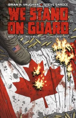 WE STAND ON GUARD -  USED BOOK - WE STAND ON GUARD TP (FRENCH)