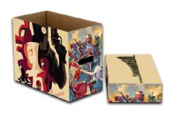 WEB WARRIORS -  200 COMICS CARDBOARD BOX