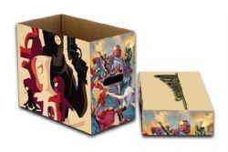 WEB WARRIORS -  200 COMICS CARDBOARD BOX