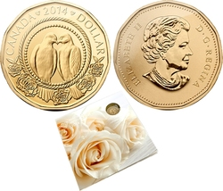 WEDDINGS -  2014 WEDDING GIFT SET -  2014 CANADIAN COINS 11