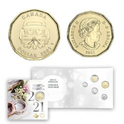 WEDDINGS -  2021 WEDDING GIFT SET -  2021 CANADIAN COINS 18
