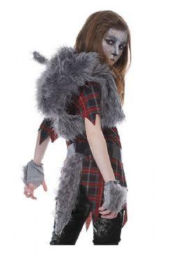 WEREWOLF -  WEREWOLF GIRL COSTUME (CHILD)