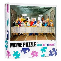 WHAT DO YOU MEME? -  LAST SUPPER (500 PIECES) -  WHAT DO YOU MEME PUZZLE