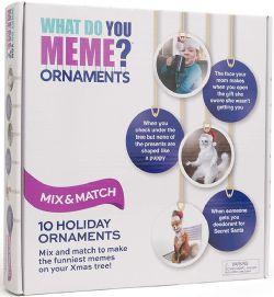 WHAT DO YOU MEME? -  ORNAMENTS (ENGLISH)