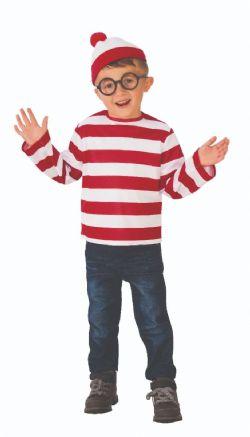 WHERE'S WALDO? -  WALDO COSTUME (CHILD)