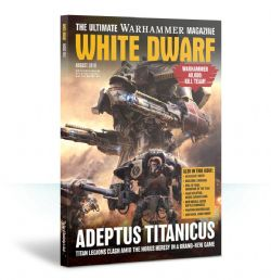 WHITE DWARF -  AUGUST 2018 (ENGLISH)