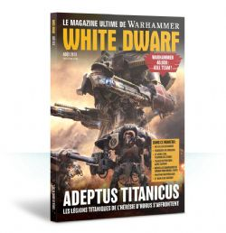 WHITE DWARF -  AUGUST 2018 (FRENCH)