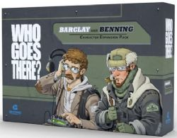 WHO GOES THERE? -  BENNING & BARCLAY (ENGLISH)