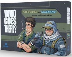 WHO GOES THERE? -  CONNANT & CALDWELL (ENGLISH)