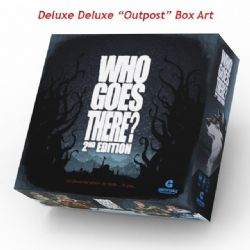 WHO GOES THERE? -  DELUXE OUTPOST BOX ART (ENGLISH)