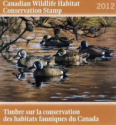 WILDLIFE STAMP -  2012 CANADA'S WILDLIFE STAMP 28