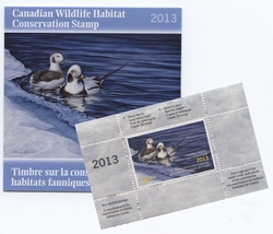 WILDLIFE STAMPS -  2013 CANADA'S WILDLIFE STAMP 29