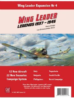 WING LEADER: LEGENDS 1937-1945 (ENGLISH)