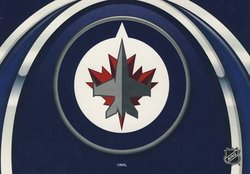 WINNIPEG JETS -  GREETING CARD