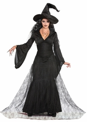 WITCH -  BLACK MIST COSTUME (ADULT)