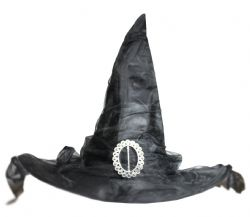 WITCH -  BLACK WITCH HAT
