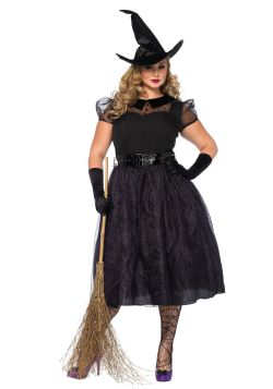 WITCH -  DARLING SPELLCASTER COSTUME (ADULT)