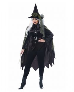 WITCH -  GOTHIC WITCH COSTUME (ADULT)