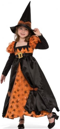 WITCH -  SPIDER WITCH COSTUME (CHILD - LARGE 8-10)