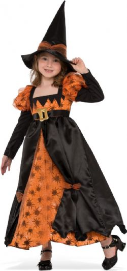 WITCH -  SPIDER WITCH COSTUME (CHILD - SMALL 3-4)