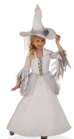 WITCH -  WHITE WITCH COSTUME (CHILD)