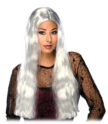WITCH -  WITCH WIG (24 INCH LONG) - GREY