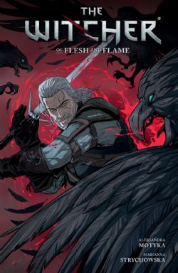 WITCHER, THE -  OF FLESH AND FLAME TP 04