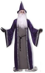 WIZARD -  WIZARD COSTUME (ADULT - ONE SIZE)