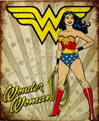 WONDER WOMAN -  METAL POSTER WONDER WOMAN