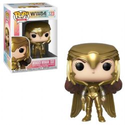 WONDER WOMAN -  POP! VINYL FIGURE OF WONDER WOMAN (GOLDEN ARMOR) (4 INCH) -  WONDER WOMAN 1984 323