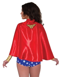 WONDER WOMAN -  SPARKLE CAPE - ADULT