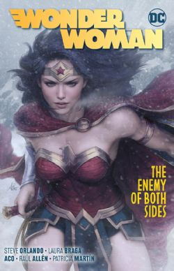 WONDER WOMAN -  THE ENEMY OF BOTH SIDES TP 09