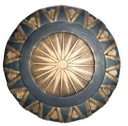 WONDER WOMAN -  WONDER WOMAN SHIELD (24 INCHES DIAMETER)