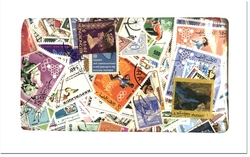 WORLD -  1300 ASSORTED STAMPS - WORLD