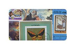 WORLD -  15-PACK WORLD STAMPS MINI-SHEETS (SERIES C)