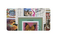 WORLD -  15-PACK WORLD STAMPS MINI-SHEETS (SERIES E)