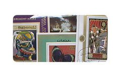 WORLD -  15-PACK WORLD STAMPS MINI-SHEETS (SERIES F)