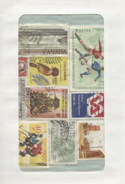 WORLD -  50 ASSORTED STAMPS - WORLD