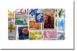 WORLD -  500 ASSORTED STAMPS - WORLD