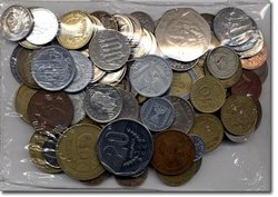 WORLD COINS -  100 DIFFERENT WORLD COINS SET