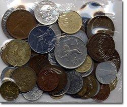 WORLD COINS -  50 DIFFERENT WORLD COINS SET