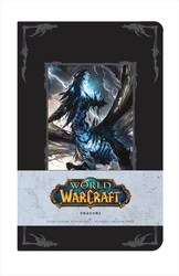 WORLD OF WARCRAFT -  DRAGONS - HARDCOVER RULED JOURNAL (192 PAGES)