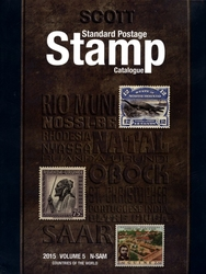 WORLD STAMPS -  2015 STANDARD POSTAGE STAMP CATALOGUE (N-SAM) 05