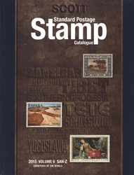WORLD STAMPS -  2015 STANDARD POSTAGE STAMP CATALOGUE (SAN-Z) 06