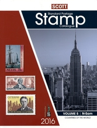 WORLD STAMPS -  2016 STANDARD POSTAGE STAMP CATALOGUE (N-SAM) 05