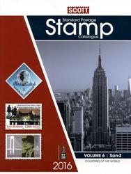 WORLD STAMPS -  2016 STANDARD POSTAGE STAMP CATALOGUE (SAN-Z) 06