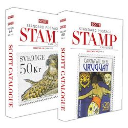 WORLD STAMPS -  2020 STANDARD POSTAGE STAMP CATALOGUE (SAN-Z) 06